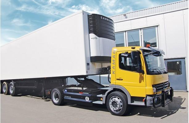 TruckWiesel для полуприцепов
