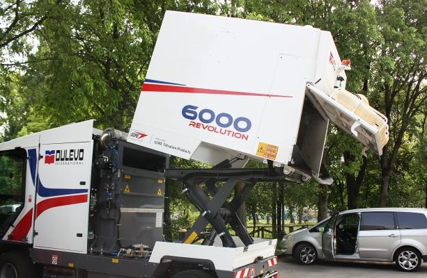 Уличные подметально-уборочные машины Dulevo 6000