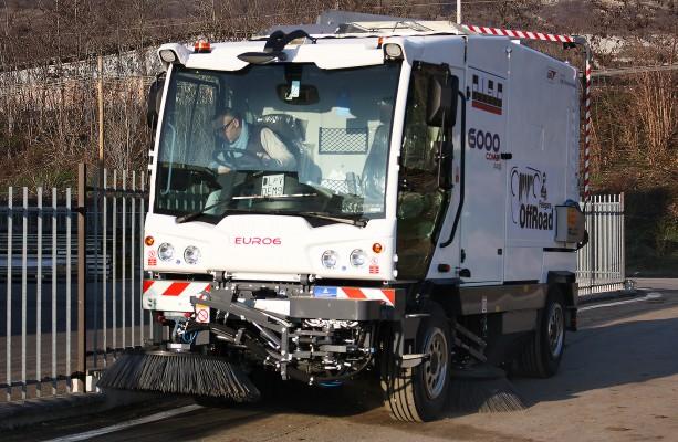 Уличные подметально-уборочные машины Dulevo 6000 Combi