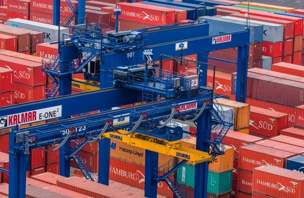 Автоматические контейнерные краны