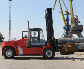 Компания Форкс осуществила поставку погрузчика KALMAR DCE-160-12 для «Укрречфлота»